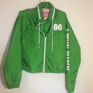 Jackets & Blazers - Victoria Secret rain jacket sz M
